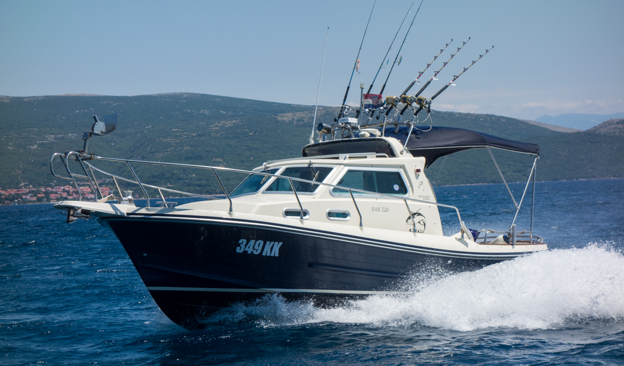 Rent a boat krk bura charter for Tuna fishing boats